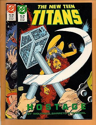 The New Teen Titans #48 & 49 2nd series Full Story NM