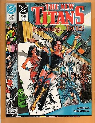 The New Teen Titans #55 & 56 2nd series NM to NM+