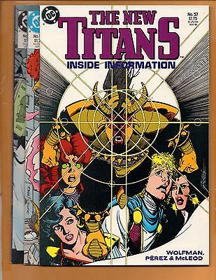 The New Teen Titans #57 58 & 59 2nd series Full Story NM to NM+