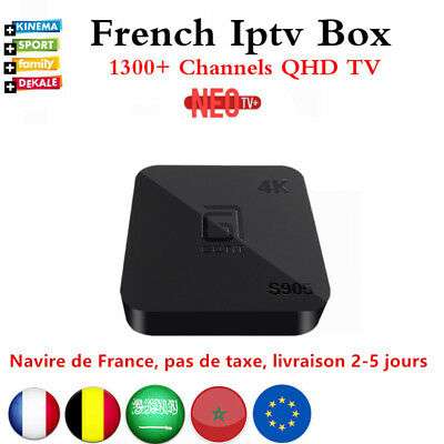 Best Quad Core Android TV Box with 1 Year 1300 channels