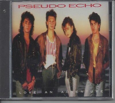 "PSEUDO ECHO  ""Love An Adventure""  NEW SEALED NEW WAVE CD  LAST ONE !!!"