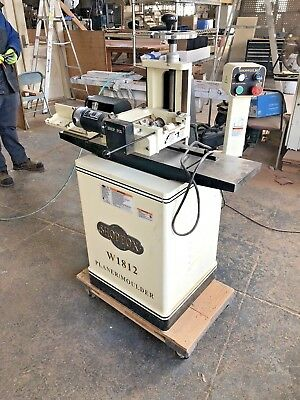 Shop Fox 7in Planer / Moulder with Stand