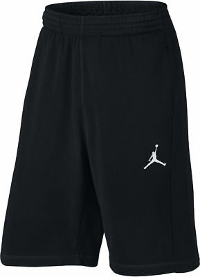 900b8ffa4d6 NIKE MEN'S SIZE Small Air Jordan Flight Fleece Sweat Shorts Black ...
