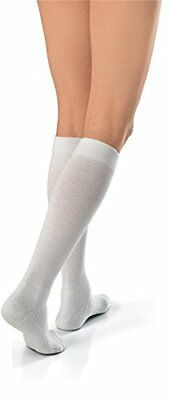 2 Pack JOBST Firm Compression Active Wear Socks 20-30mmHg White Large 1 Each
