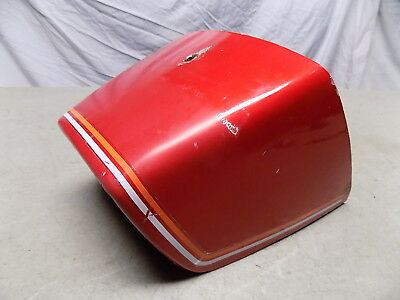 78 Puch Magnum XK Red Tail Piece Rear Section Fairing Cover Trunk Original Paint