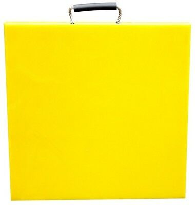 300x300x40 Yellow Outrigger/Crane Pads