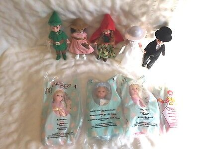 Madame Alexander McDonald's Happy Meal Dolls Lot of 20 All Different Lot 9 MINT