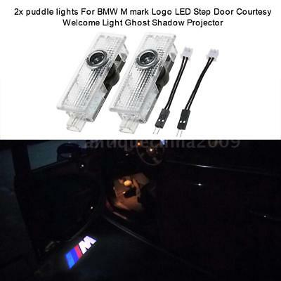 2X LED Courtesy Laser Welcome Projector Logo Shadow Door Light Lamp For BMW D7B5