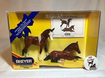 Breyer model horse #700399 Cricket & Willow, traditional scale, new in box
