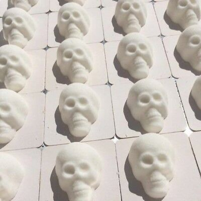 Sugar Skull Box of 1 Dozen Dia de los Muertos Day of the Dead Day Mold Flat Back