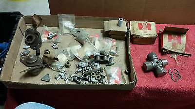 Vintage International Harvester Farm Tractor  Parts Lot