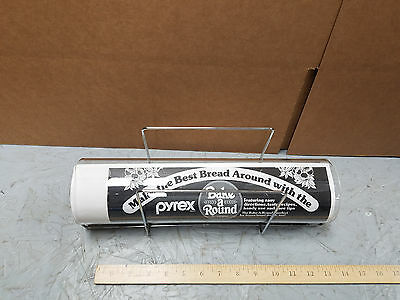 Pyrex Bake A Round Bread Making Tube With Rack And Instructions      1