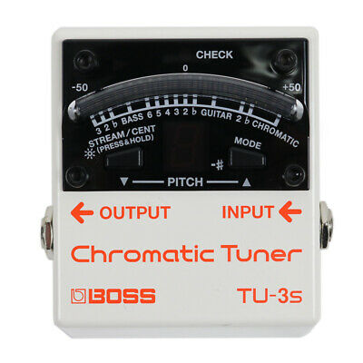 Boss TU-3S Mini Chromatic Guitar/Bass Tuner Pedal