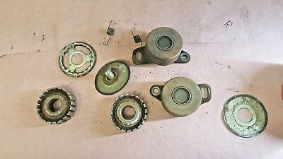 80-83 Honda Goldwing Gl1100 Oem Engine Motor Timing Belt Tensioner Pulleys($$3))