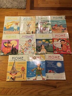 Vintage Lot of 11 Mary Engelbreit's Home Companion Magazines 1990s -2000s