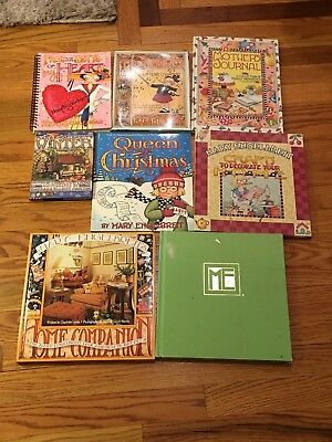 Mary Engelbreit Book Lot Queen of Christmas Mother's Journal My Symphony Crafts