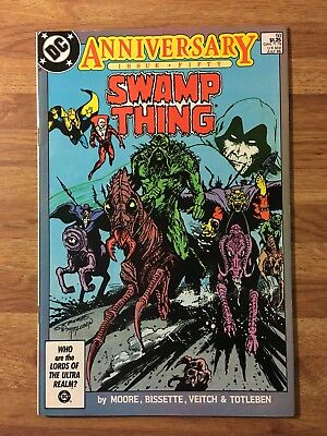Swamp Thing #50 (DC 1986) 1st App of Justice League Dark~Alan Moore Story~Key~VF