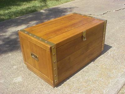 Mid Century Campaign Chest Trunk