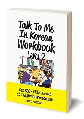 Talk To Me In Korean Workbook Level 2 Get 800 + Free Lessons Hangul Learn Study