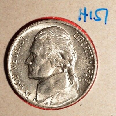 1939 P - Jefferson Nickel UNCIRCULATED ~~  INV#H-151