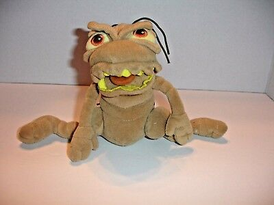 "P.T. Flea A Bug's Life Disney Pixar 8"" brown bean bag stuffed plush toy bug life"