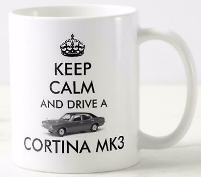 Keep Calm I Drive A Cortina t-shirt