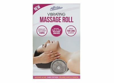 GLAMOUR CONNECTIONS Vibrating Massage ROLL Cushion Soft Massager Multi-Purpose