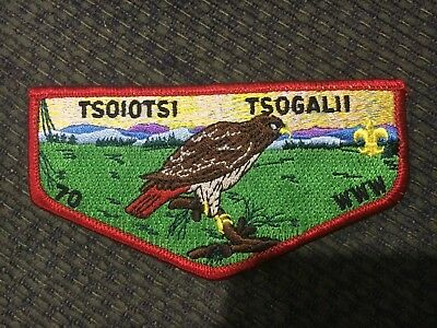 D1021 OA Lodge 70 Tsoiotsi Tsogalii S20 Flap issued for 2006 Conclave Work Day