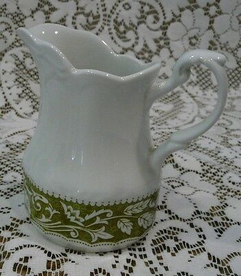 J & G Meakin Sterling Colonial English Ironstone England Creamer