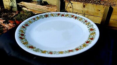 """Pyrex / Corning Ware / Corelle Spice Of Life Pattern Dinner Plate 10¼"""""""