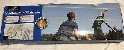 Volleyball Set - Fast Setup Net & Pole System - NEW - EastPoint