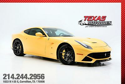 2014 Ferrari F12 Berlinetta Base Coupe 2-Door 2014 Ferrari F12 Berlinetta Pearl Yellow!