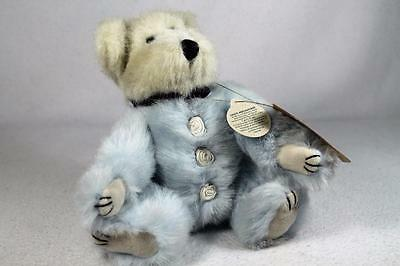 Boyds Bears Plush 'Gwinton' Blue Fur-Cute Investment Archive Collection-W/Tags