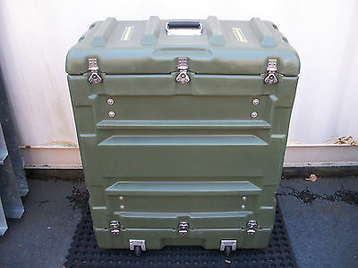 Hardigg Pelican Military Medical Storage Shipping Rack & Shock Mount Hard Case