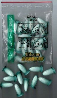 BILSOM EARPLUGS, QUIET DOWN - 40 PAIRS – 202S Small, Free Shipping in USA!