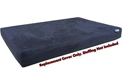 Dog Bed Duvet Replacement Cover for Small to Extra Large Pet - Suede in Espresso