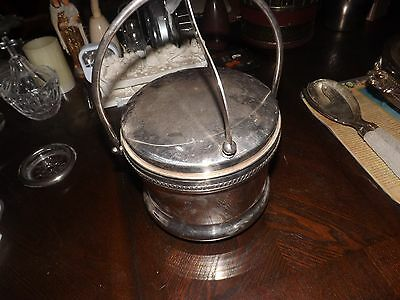 Trade Mark Dated 1883 Silver Ice Bucket Tong ~ Fb Rogers Silver Co ~ Excellent ~