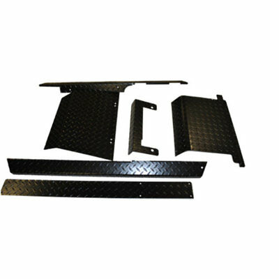 EZGO Golf Cart Black Diamond Plate Combo Accessory Kit