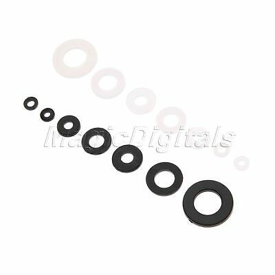 Assorted Size Nylon Repair Washer Kit M2 M2.5 M3 M4 M5 M6 M8 Screws 350Pcs/Box
