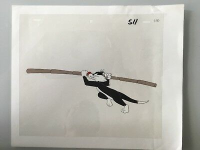 Sylvester the Cat Animation Cel, Awesome condition.