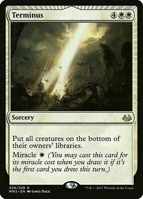 Terminus ~ Modern Masters 2017 ~ MINT/NearMint ~ Magic The Gathering