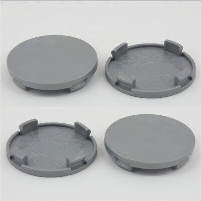 Alloy wheel center caps universal rim plastic 4x centre hub cap 54-49.5 no logo