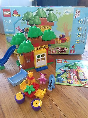 LEGO DUPLO 5947  Winnie The Pooh's House - Rare with box and manual