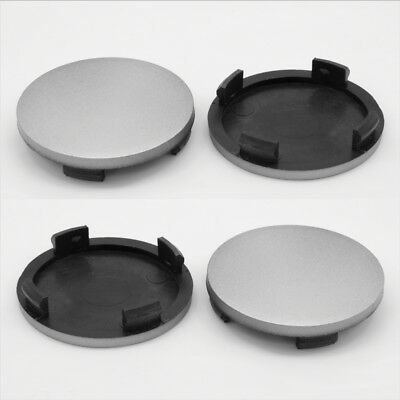 Alloy wheel center caps centre universal rim plastic 4x hub cap 55-50 mm no logo