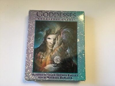 Goddesses Knowledge Cards Susan Seddon Boulet Michael Babcock  48 cards