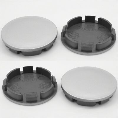 Wheel center caps centre universal alloy rim plastic 4x hub cap 55.5 mm - 60 mm