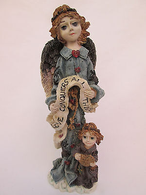 Boyds Folkstone Angel of Love 1994  #15E/1160  Love Conquers All Things