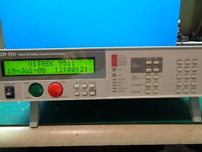 Vitrek 951i 6KV AC/DC/IR Electric Safety Compliance Analyzer. EX. COND!