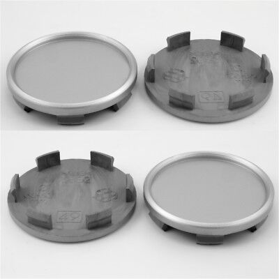 Wheel center caps centre universal alloy rim plastic 4x hub cap 62.5 mm - 68 mm