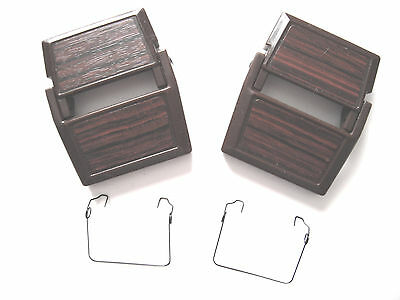 2 new latches + springs for Rainbow vacuum D3, D3C, D4, D4C, SE water pan/basin